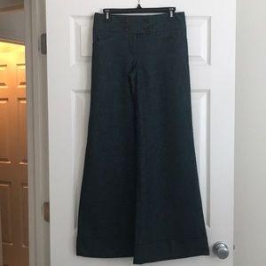 Express lined bell bottom dress pants (item 016)